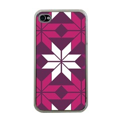 Pattern Background Texture Aztec Apple Iphone 4 Case (clear)