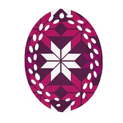 Pattern Background Texture Aztec Ornament (oval Filigree)