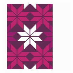Pattern Background Texture Aztec Small Garden Flag (two Sides)