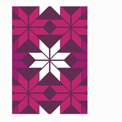 Pattern Background Texture Aztec Large Garden Flag (two Sides)