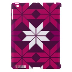Pattern Background Texture Aztec Apple Ipad 3/4 Hardshell Case (compatible With Smart Cover)