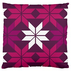 Pattern Background Texture Aztec Large Cushion Case (two Sides)