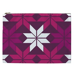 Pattern Background Texture Aztec Cosmetic Bag (xxl)