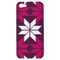 Pattern Background Texture Aztec Apple Iphone 5 Hardshell Case