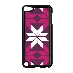 Pattern Background Texture Aztec Apple Ipod Touch 5 Case (black)