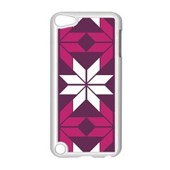 Pattern Background Texture Aztec Apple Ipod Touch 5 Case (white)