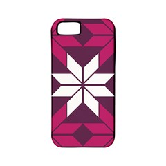 Pattern Background Texture Aztec Apple Iphone 5 Classic Hardshell Case (pc+silicone)