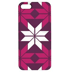 Pattern Background Texture Aztec Apple Iphone 5 Hardshell Case With Stand