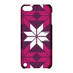 Pattern Background Texture Aztec Apple Ipod Touch 5 Hardshell Case With Stand