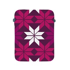Pattern Background Texture Aztec Apple Ipad 2/3/4 Protective Soft Cases