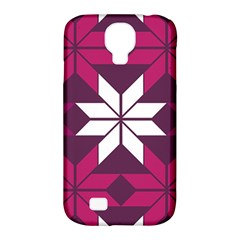 Pattern Background Texture Aztec Samsung Galaxy S4 Classic Hardshell Case (pc+silicone)