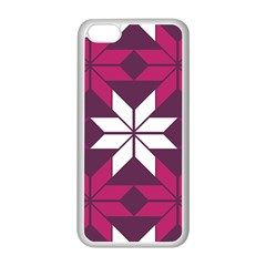 Pattern Background Texture Aztec Apple Iphone 5c Seamless Case (white)