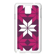 Pattern Background Texture Aztec Samsung Galaxy Note 3 N9005 Case (white)