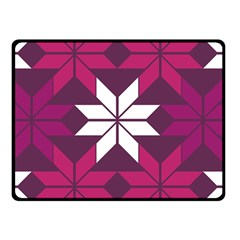 Pattern Background Texture Aztec Double Sided Fleece Blanket (small)