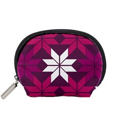 Pattern Background Texture Aztec Accessory Pouches (Small)