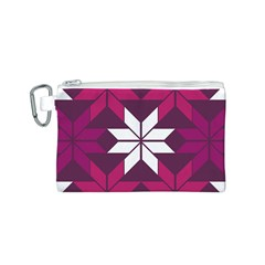 Pattern Background Texture Aztec Canvas Cosmetic Bag (s)
