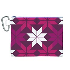 Pattern Background Texture Aztec Canvas Cosmetic Bag (xl)