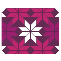 Pattern Background Texture Aztec Double Sided Flano Blanket (medium)