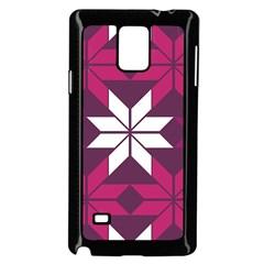 Pattern Background Texture Aztec Samsung Galaxy Note 4 Case (black)
