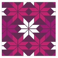 Pattern Background Texture Aztec Large Satin Scarf (square)