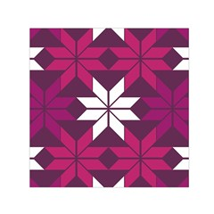 Pattern Background Texture Aztec Small Satin Scarf (square)