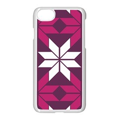 Pattern Background Texture Aztec Apple Iphone 7 Seamless Case (white)