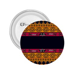 Pattern Ornaments Africa Safari Summer Graphic 2 25  Buttons