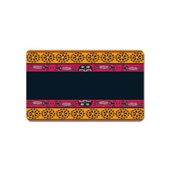 Pattern Ornaments Africa Safari Summer Graphic Magnet (name Card)
