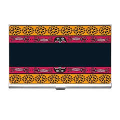Pattern Ornaments Africa Safari Summer Graphic Business Card Holders