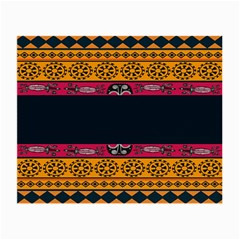 Pattern Ornaments Africa Safari Summer Graphic Small Glasses Cloth