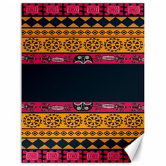 Pattern Ornaments Africa Safari Summer Graphic Canvas 18  X 24