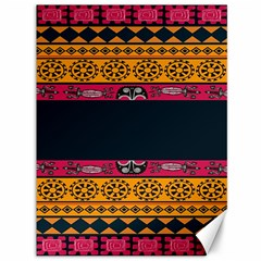 Pattern Ornaments Africa Safari Summer Graphic Canvas 36  X 48