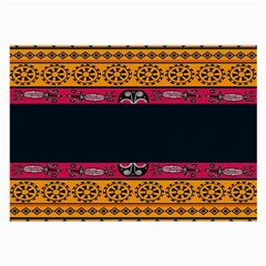 Pattern Ornaments Africa Safari Summer Graphic Large Glasses Cloth (2 Side)
