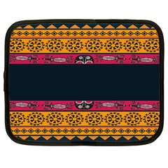 Pattern Ornaments Africa Safari Summer Graphic Netbook Case (large)