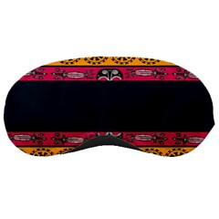 Pattern Ornaments Africa Safari Summer Graphic Sleeping Masks