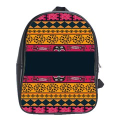 Pattern Ornaments Africa Safari Summer Graphic School Bags(large)