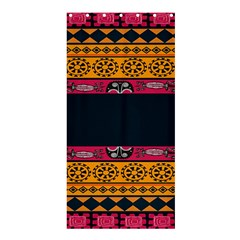 Pattern Ornaments Africa Safari Summer Graphic Shower Curtain 36  X 72  (stall)