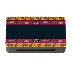 Pattern Ornaments Africa Safari Summer Graphic Memory Card Reader With Cf