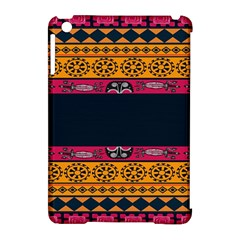 Pattern Ornaments Africa Safari Summer Graphic Apple Ipad Mini Hardshell Case (compatible With Smart Cover)