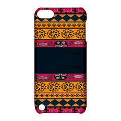 Pattern Ornaments Africa Safari Summer Graphic Apple Ipod Touch 5 Hardshell Case With Stand