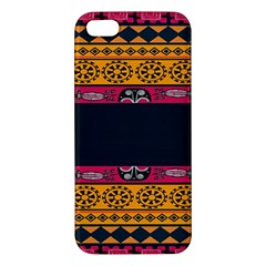 Pattern Ornaments Africa Safari Summer Graphic Apple Iphone 5 Premium Hardshell Case