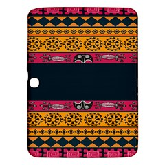 Pattern Ornaments Africa Safari Summer Graphic Samsung Galaxy Tab 3 (10 1 ) P5200 Hardshell Case
