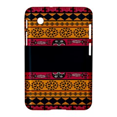 Pattern Ornaments Africa Safari Summer Graphic Samsung Galaxy Tab 2 (7 ) P3100 Hardshell Case