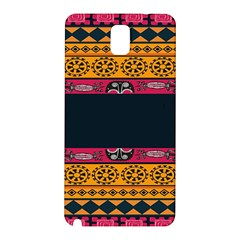 Pattern Ornaments Africa Safari Summer Graphic Samsung Galaxy Note 3 N9005 Hardshell Back Case