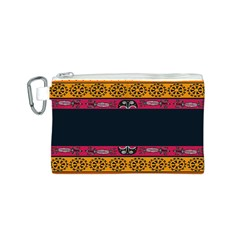 Pattern Ornaments Africa Safari Summer Graphic Canvas Cosmetic Bag (s)