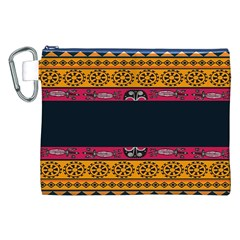 Pattern Ornaments Africa Safari Summer Graphic Canvas Cosmetic Bag (xxl)