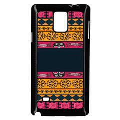 Pattern Ornaments Africa Safari Summer Graphic Samsung Galaxy Note 4 Case (black)