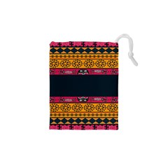 Pattern Ornaments Africa Safari Summer Graphic Drawstring Pouches (xs)
