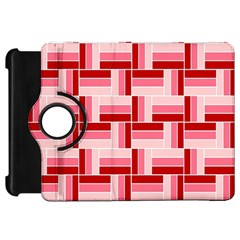 Pink Red Burgundy Pattern Stripes Kindle Fire Hd 7