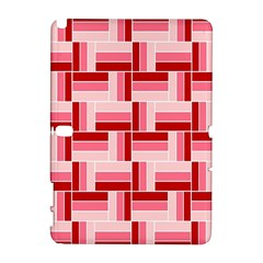 Pink Red Burgundy Pattern Stripes Galaxy Note 1